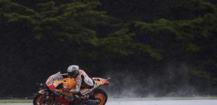 Post de Márquez también manda en Australia el día que patinan Jorge Lorenzo y Rossi