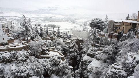El frío congela a España y la nieve no se va... ni de Ronda