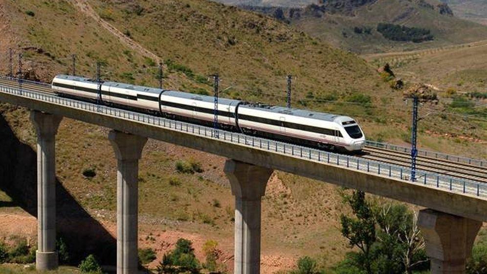 Foto: Un tren de Renfe.