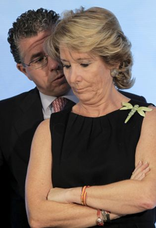 Foto: Aguirre destituye a Granados por falta de confianza y le sustituye por Ignacio González