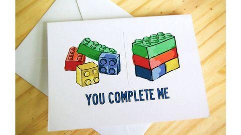 Tarjetas de San Valentín: Si eres 'friki' y además estás enamorado... ¡no te las pierdas!