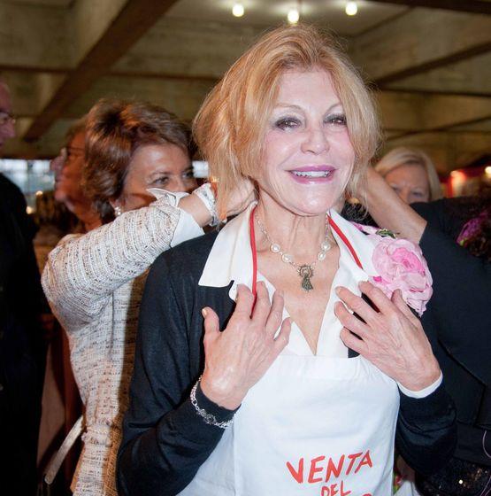 Foto: Tita Thyssen feliz en una imagen de archivo.