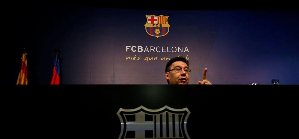 Foto: En la imagen, Josep Maria Bartomeu (Reuters)