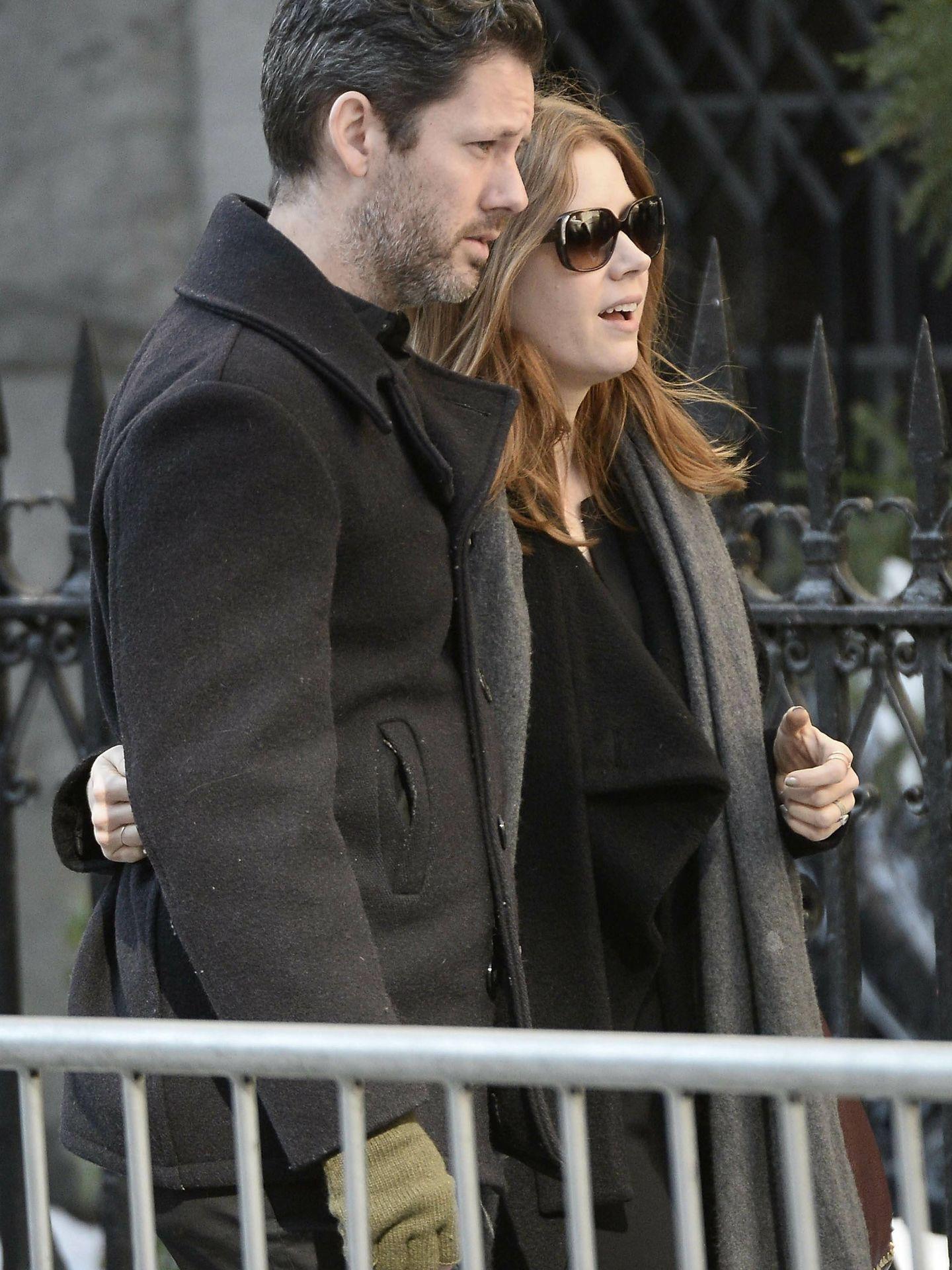 Amy Adams y Darren Le Gallo. (EFE)