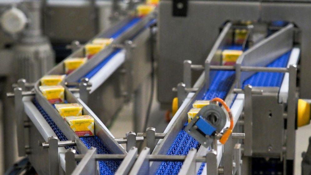 Foto: Imagen de una fábrica de masas madre en Valladolid (Efe)