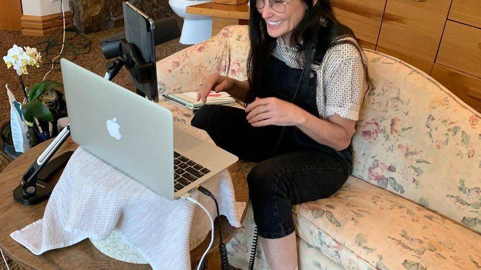 Demi Moore nos deja sin palabras: la decoración 'abuelita style' de su mansión