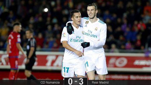 Lucas Vázquez es el único del Madrid que se toma en serio la Copa del Rey
