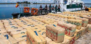 Post de Interceptan 1.000 kilos de hachís en una narcolancha tripulada por dos españoles