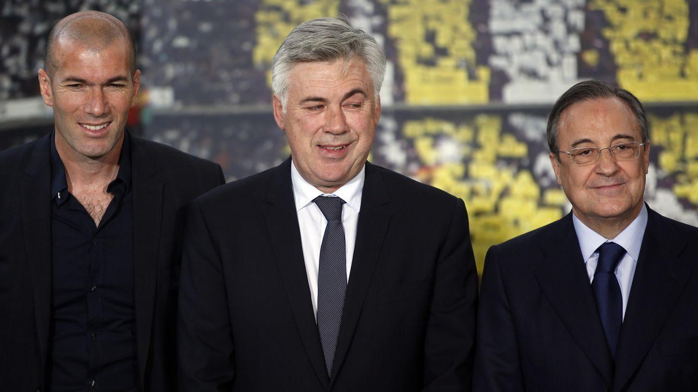 Ancelotti retrata a Florentino: En el Real Madrid, cuando uno no gana, lo despiden