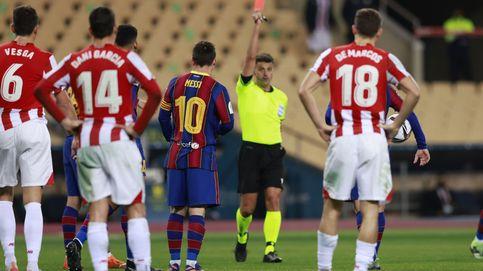 Messi, castigado con dos partidos de sanción por su agresión en la Supercopa