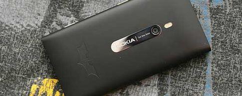 Llega el Batphone: el nuevo modelo Lumia 900 de Nokia inspirado en Batman