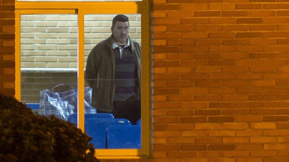 Foto: David Marjaliza, a su salida de cárcel. (Efe)