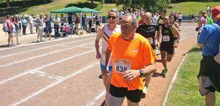 Post de La última marca personal de Fermín Cacho: 1.500 metros sobre tierra