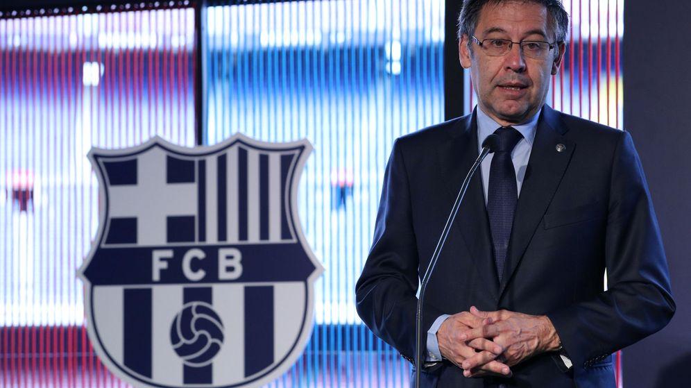Foto: El presidente del FC Barcelona, Josep Maria Bartomeu. (Reuters)