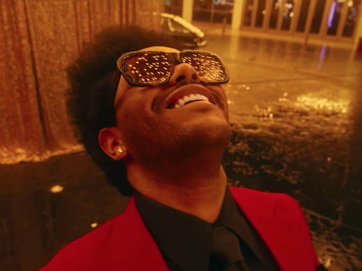 Foto: Fotograma del videoclip de 'Blinding Lights' de The Weeknd, la canción más escuchada del mundo en Spotify en 2020 (YouTube)