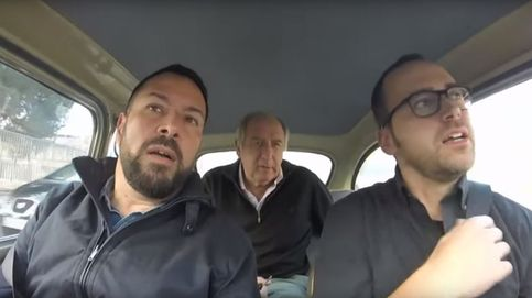 Carles Rexach charla con Toni García, excanterano del Barça enfermo de ELA