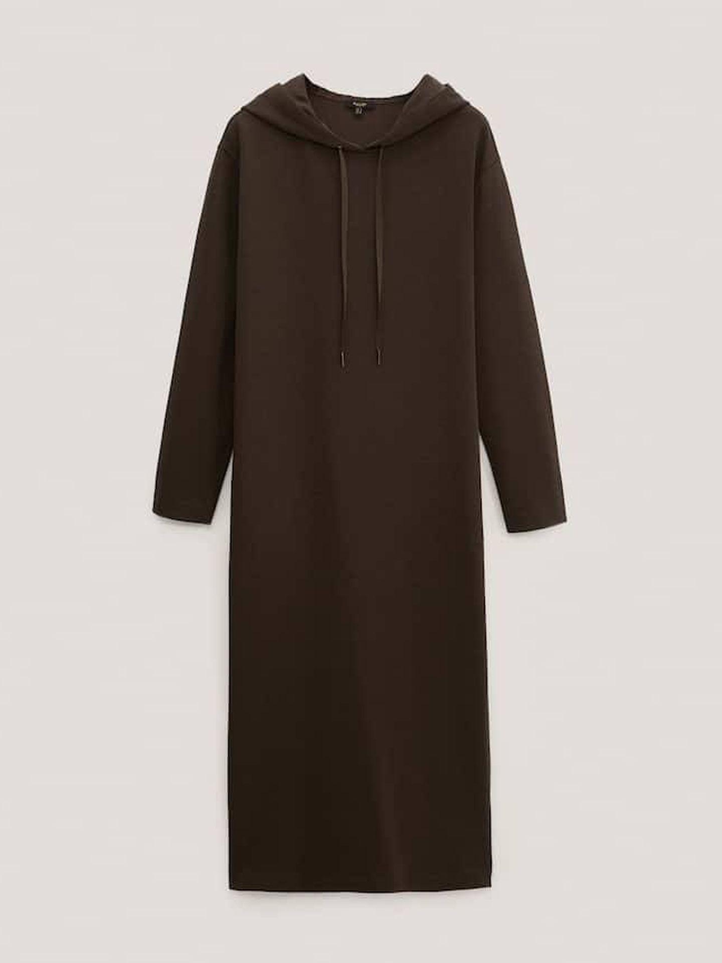 Sudadera vestido de Massimo Dutti. (Cortesía)