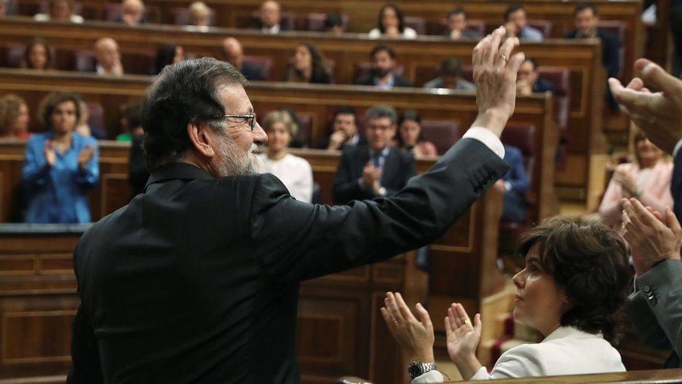 El vídeo de la moción de censura: así se ha despedido Rajoy en el Congreso