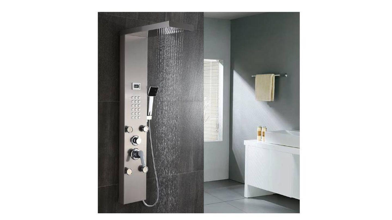 Columna de ducha con pantalla LCD AuraLum