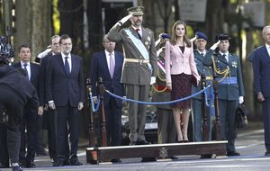 El Príncipe debuta presidiendo el 12 de octubre, marcado por la austeridad y los recortes
