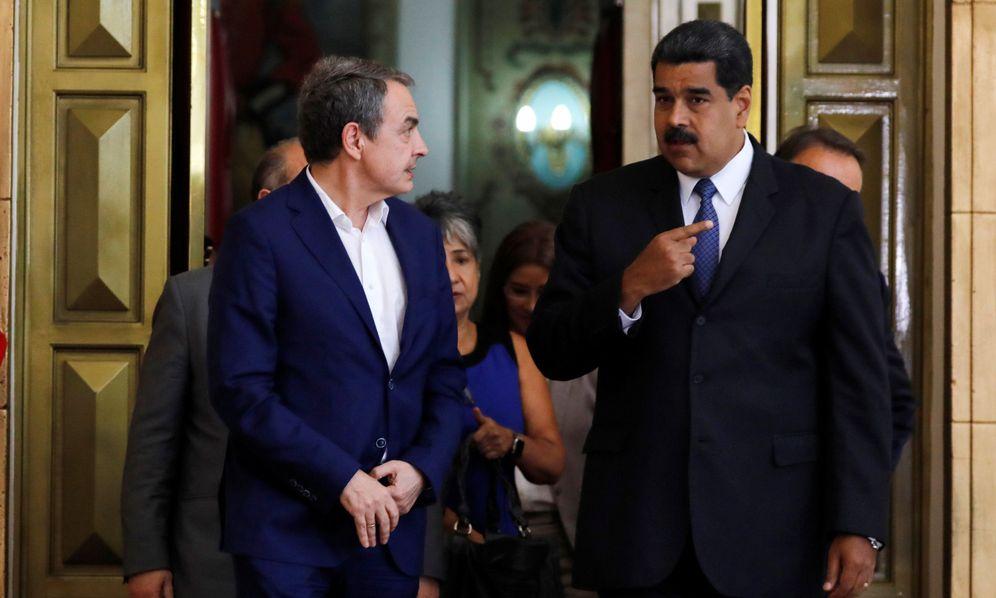 Foto: José Luis Rodríguez Zapatero y Nicolás Maduro en una imagen de archivo. (Reuters)