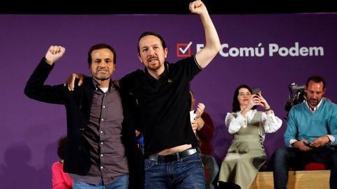 Los comunes empujan a Podemos contra la Corona para marcar distancia con el PSC