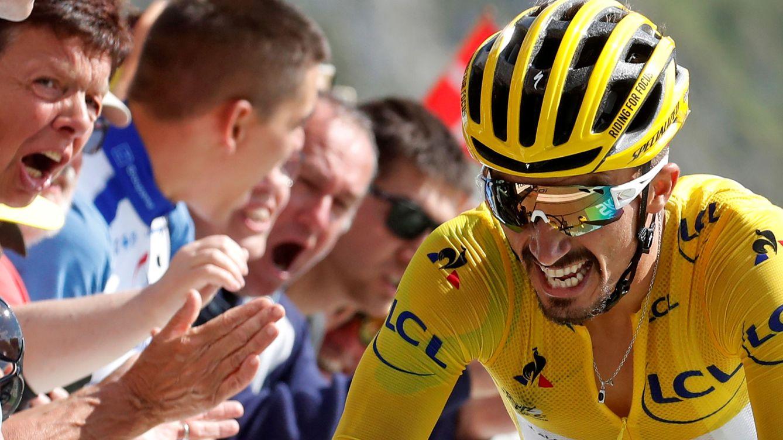 La exhibición de Alaphilippe en el Tourmalet para alejar a sus rivales del Tour de Francia