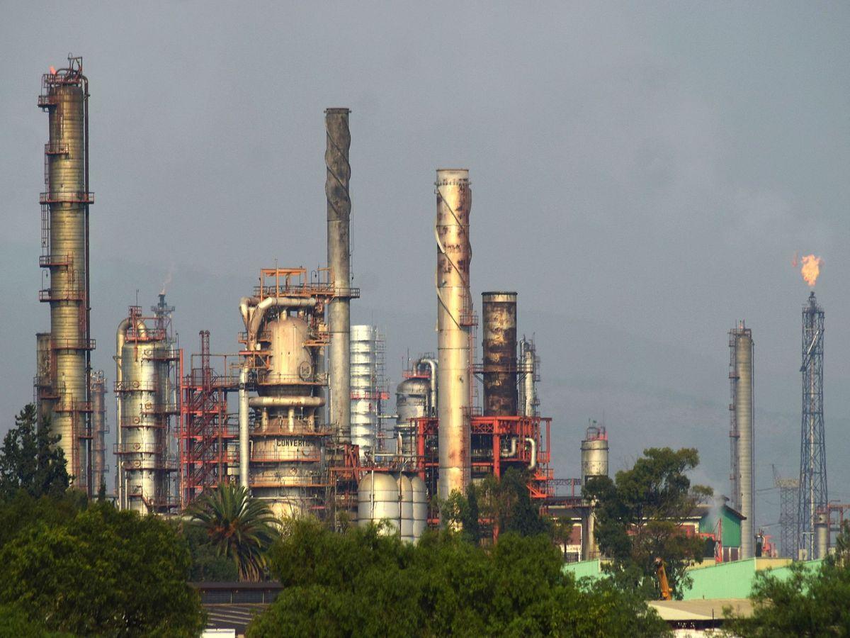 Foto: Refinería de petróleo. (EFE)