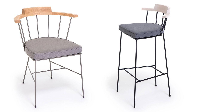 Foto: Dos sillas de la colección MIM.
