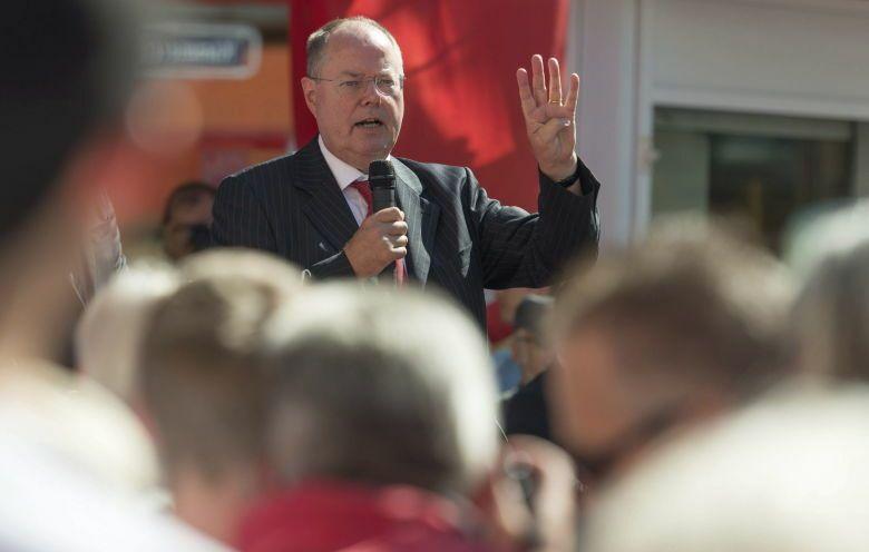 Campaña electoral de peer steinbrück