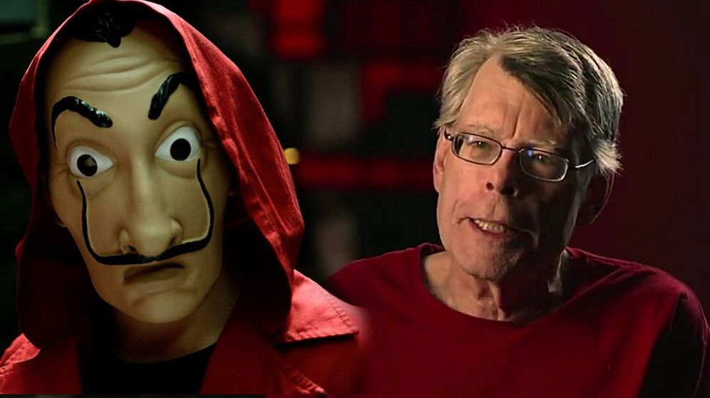 Foto: Stephen King, en Youtube