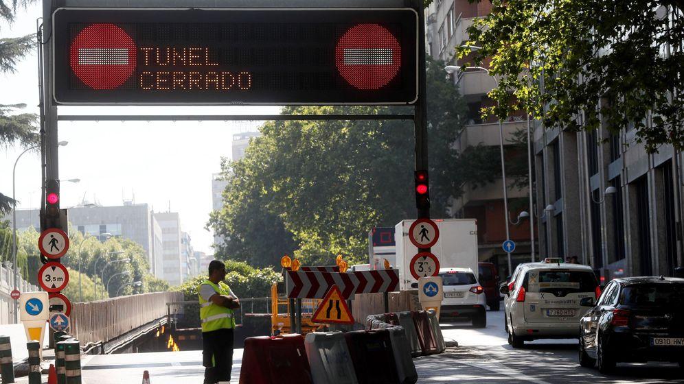 Foto: El túnel de María de Molina, cuando cerró el pasado agosto por obras. (EFE)