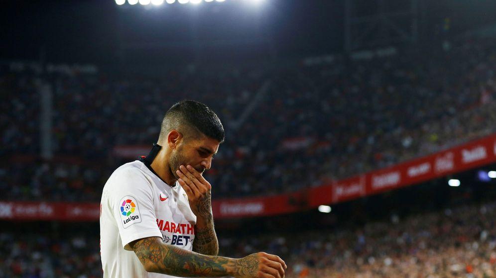 Foto: Ever Banega, un punto a tratar para el Sevilla en breve. (Reuters)