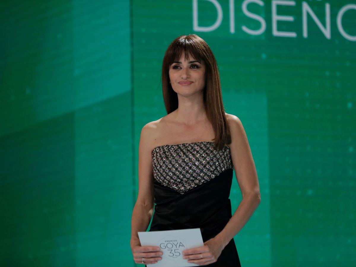Foto: Penélope Cruz, durante la pasada gala de los Premios Goya. (Reuters)