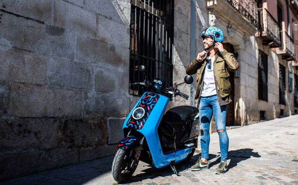 Foto: Las motos de Movo, negocio en el que participa Cabify.
