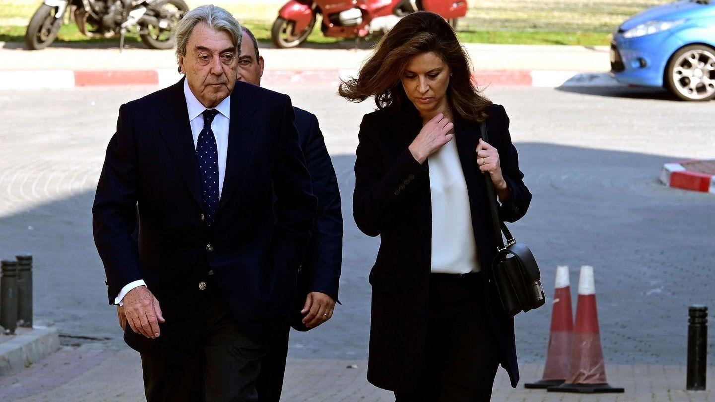 Alberto Cortina y Elena Cué, en una imagen de archivo. (EFE)