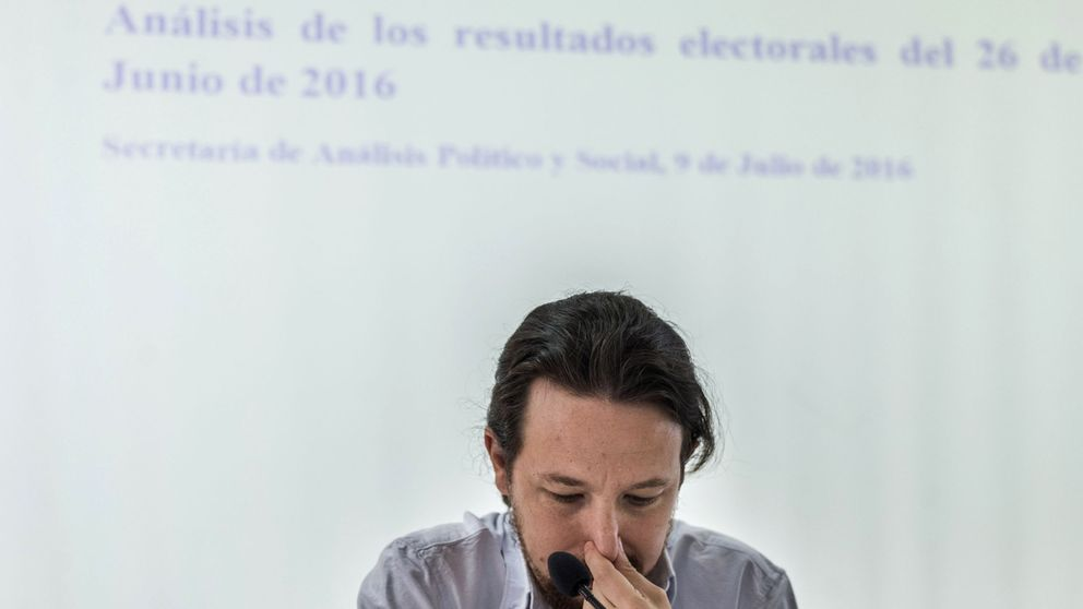 """El sábado, Pablo Iglesias entró """"en declive"""""""