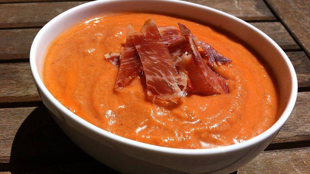 Foto: Salmorejo cordobés, un plato que traspasa barreras.