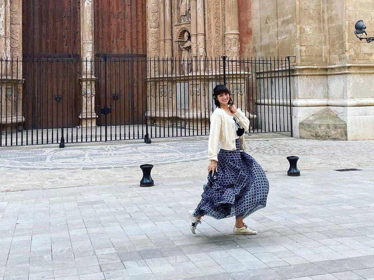 Foto: Ana de Armas, en Palma de Mallorca. (Redes)