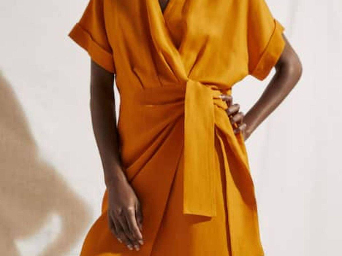Foto: El vestido de Massimo Dutti. (Cortesía)