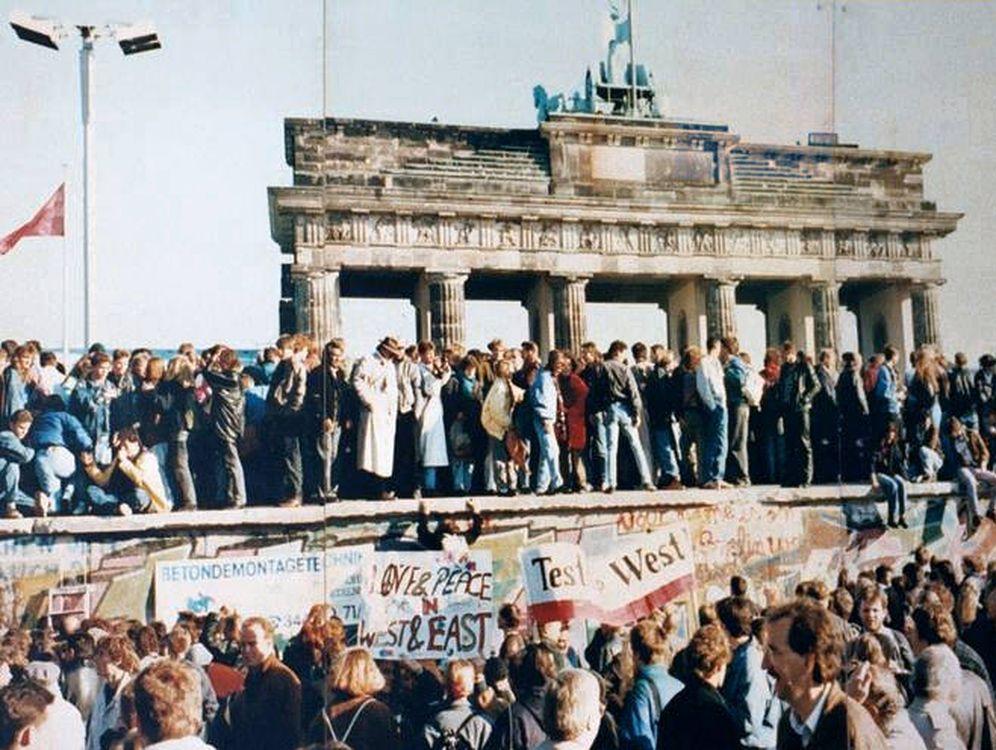 Foto: Caída del Muro de Berlín, el 9 de noviembre de 1989