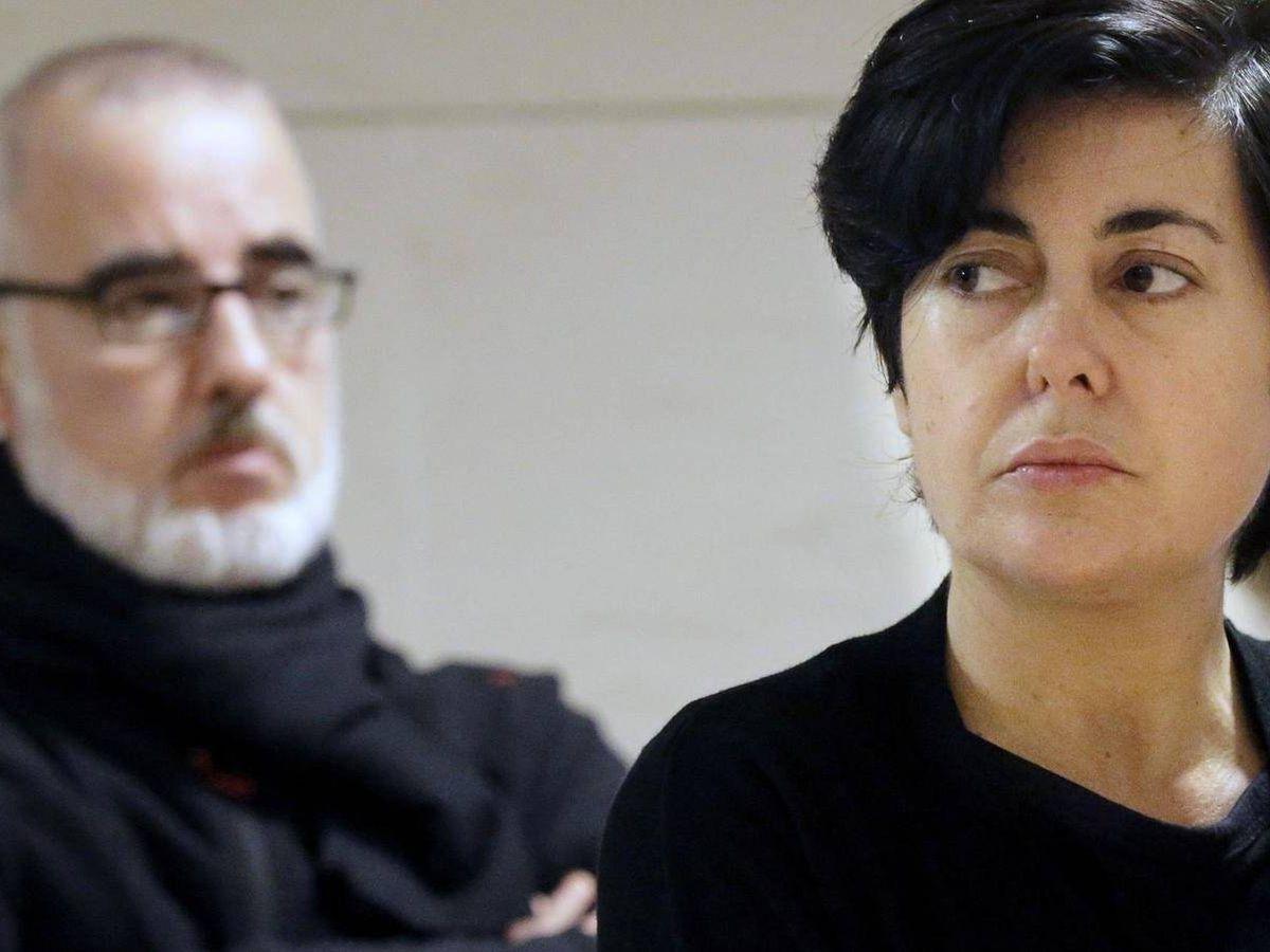 Foto: Rosario Porto y Alfonso Basterra, padres de Asunta.