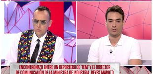 Post de El dircom de Reyes Maroto niega haber agredido al reportero de Risto Mejide