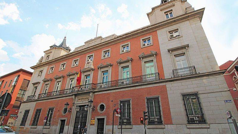 Palacio de la Marquesa de la Sonora, una de las sedes del Ministerio de Justicia. (Wikimedia)