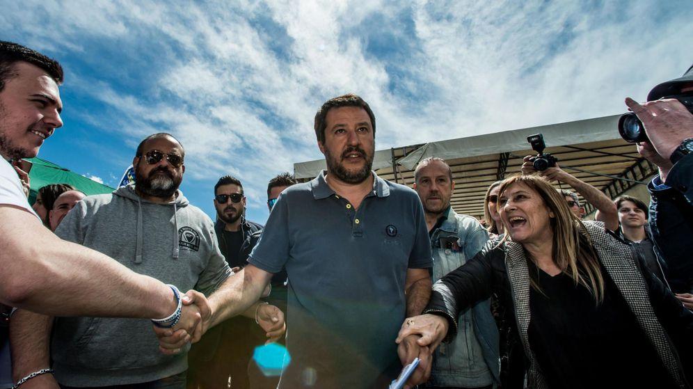 Foto: Italian interior minister and deputy prime minister matteo salvini