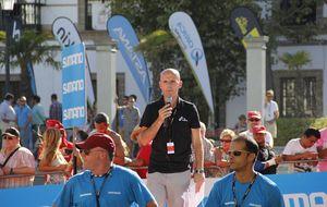 Juan Mari Guajardo, la voz de la Vuelta alcanza la mayoría de edad