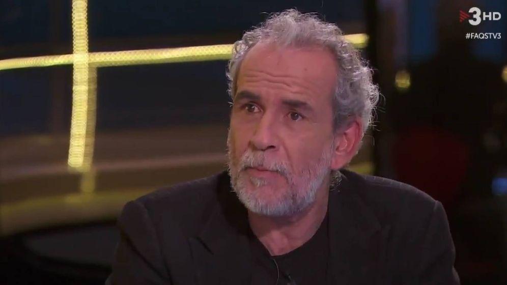 Foto: Willy Toledo en TV3.