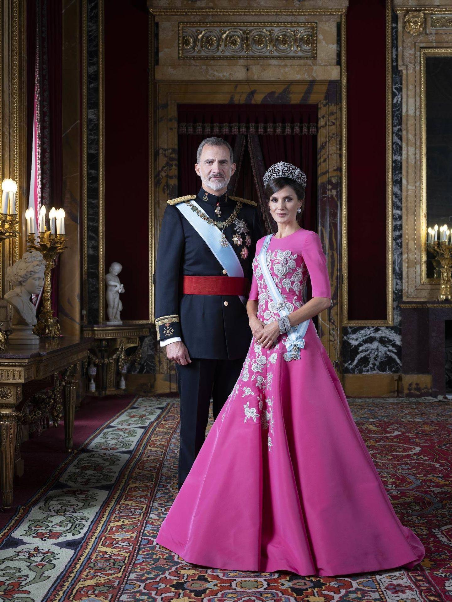Felipe y Letizia. (Casa Real)
