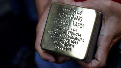 Unos adoquines homenajean en Madrid a los españoles enviados a campos nazis