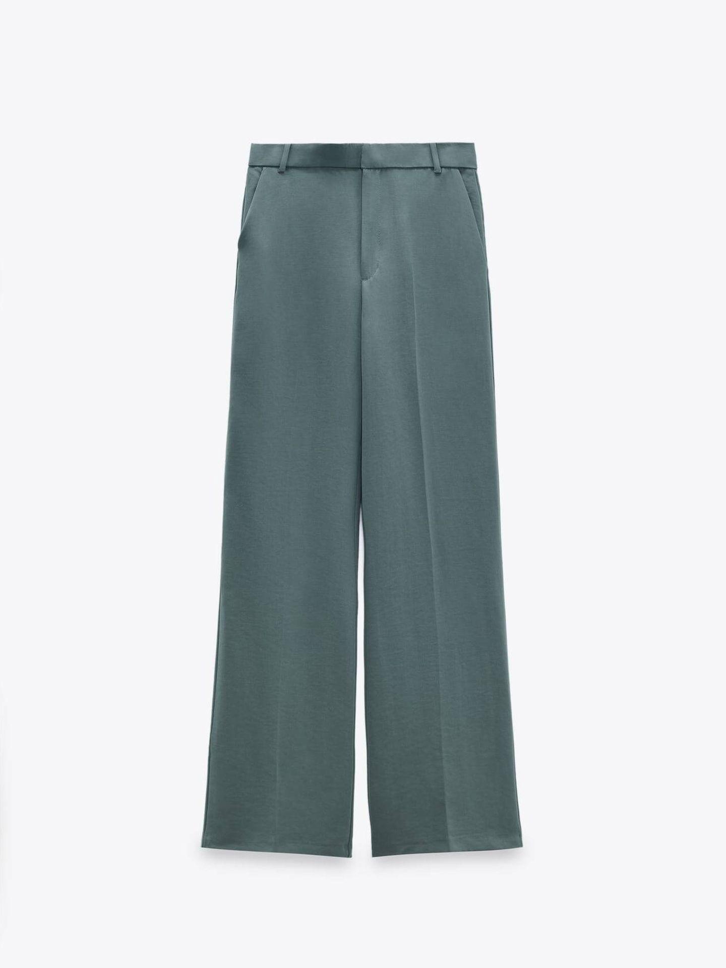 Pantalón de vestir de Zara. (Cortesía)